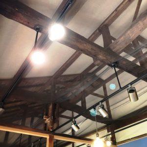 絵本展示室天井