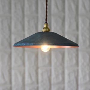 銅のペンダントライト 「 pendant light_wide 」