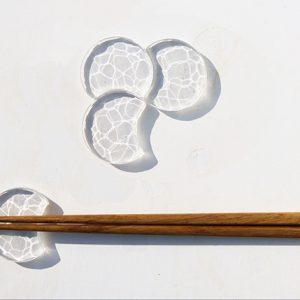 yuta maruoka ガラス作品「箸置き 4pieces / 箸置き 5pieces」