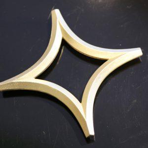 鍋敷き「星」